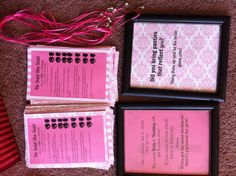 Bridal shower games! Victoria secret theme: He said she said, necklace game & panty game !
