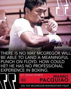Manny on #MayweatherMcGregor  ________________________________ #Boxing #Boxeo #RoundByRoundBoxing #RoundByRound #RBRBoxing #RBRBuzz #BoxingNews #BoxingHype #BoxingGuru #BoxingFanatik #MayweathervsMcGregor #MoneyFight #MGM #LasVegas #TBE #TMT #ShowtimeBoxing #Showtime #MayweatherPromotions #MMA #UFC #ConorMcGregor #PacMan #PacHorn #PacquiaoHorn