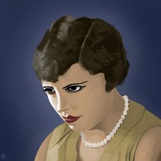 Girl from Un Chien Andalou