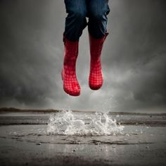 Jumping In Puddles...Good For All Of Us :) | I LOVE Rain Boots ...