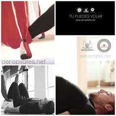 Ejercicio de Pilates Aéreo para Glúteos, de AeroPilates ® Institute