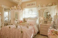Shabby Chic Bedroom Decor Ideas - Create Your Personal Romantic . - Shabby Chic Bedroom Decor Ideas – Create Your Personal Romantic Oasis – Shabby Chic Bedroom Dec - Shabby Chic Pink, Buffet Shabby Chic, Shabby Chic Romantique, Shabby Chic Mode, Style Shabby Chic, Shabby Chic Kitchen, Diy Kitchen, Kitchen White, Kitchen Small