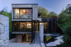 Cloister House + Laneway by Measured Architecture Inc. - Canada