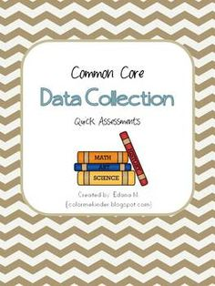 There are 14 quick data collection assessments included in this packet. If you prefer you can also use these sheets as homework assignments to rein...