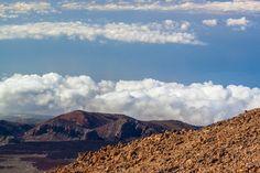 Santa Cruz de Tenerife, cima volcan Teide