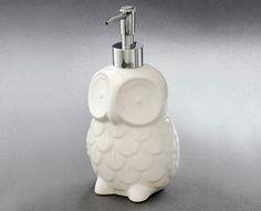 Owl Soap Dispenser