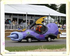 Dick Dastardly's Mean Machine from the Wacky Races.