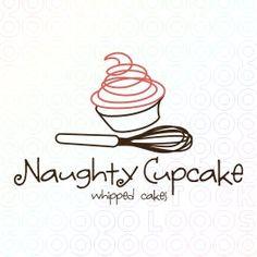 Naughty Cupcake - Whipped cakes logo