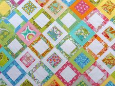 Sweet Daisy Quilt Pattern (pdf) by Red Pepper Quilts. $8.50, via Etsy.