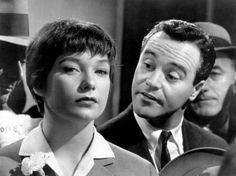 """Shirley MacLaine and Jack Lemmon in """"The Apartment"""" (1960)"""