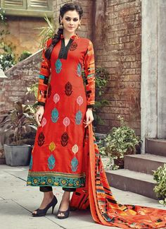 bfcd639f0 Pleasing Red Coloured Pashmina Printed Indian Designer Salwar Suit At Best  Price By UttamVastra - Try · Buy Salwar Kameez OnlineSalwar ...