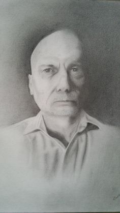 """Self Portrait (2015) graphite on paper 14"""" X 11"""""""