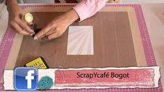 ScrapYcafé - Técnica con Material Reciclado. Hola amigas, hoy traemos un súper tutorial hecho con mucha pasión para todas ustedes. Disfrútenlo mucho y pónganlo en práctica.