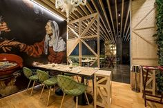 Restaurant Tabik on Avenida da Liberdade in Lisbon