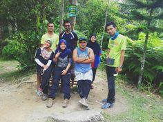Hiking clique, Angsi Mount, Negeri Sembilan, Malaysia