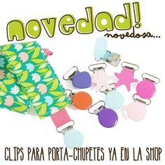 clips para porta-chupetes!!