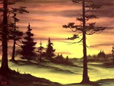 Bob Ross Paintings : Bob Ross Oil Paintings, Landscape Paintings 1024*768 NO.28 Wallpaper