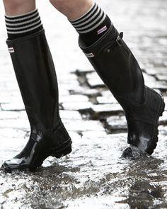 Hunter Boot Gloss Welly Boot - Bergdorf Goodman