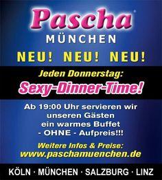 Jeden Donnerstag im #Pascha München!