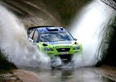 Ford Focus WRC rally car