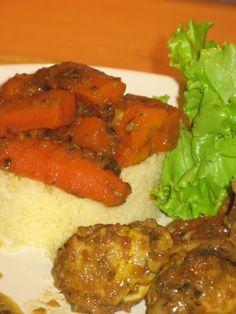 """Poulet aux carottes façon """"tajine"""" - Patio'nnement cuisine"""