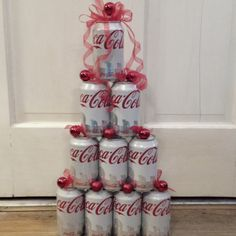 Nana's Coca-Cola Christmas tree!