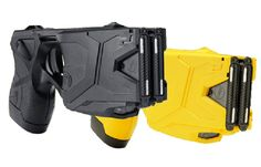 """The New York Times spotlights the Taser in their weekly """"Who Made That?"""" column which focuses on the history of everyday objects. Tactical Life, Tactical Gear, Law Enforcement Equipment, Self Defense Weapons, Lethal Weapon, Personal Security, Safety Switch, Home Defense, Surveillance System"""