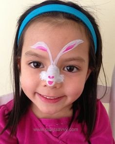 Easter Bunny Face Painting Designs Tattoo