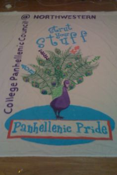 Love this! AZ submitted this Panhellenic banner