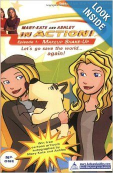 Makeup Shake-up (Mary-Kate and Ashley in Action #1): Mary-Kate & Ashley Olsen: 9780060093020