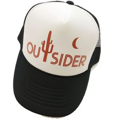 e5aa9ce2 Women's Trucker Hat, Outsider Hat, Cactus Hat, Women's Hat, Moon, Rust  Orange, Hippie Hat, Women's Adjustable Hat, Cute Hat, Boho