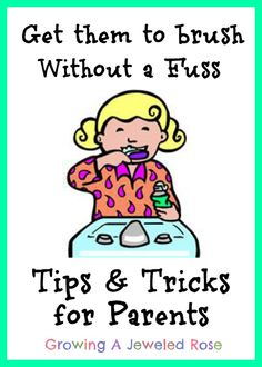 Tips for parents brushing teeth