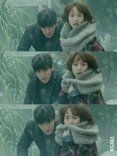 Love this scene. Scared and Helpless Park Bong Soo is a delight Healer Ji Chang Wook Park Min Young, Healer Korean, Healer Kdrama, Cantabile Tomorrow, Kim Moon, Ji Chang Wook Healer, K Drama, Suspicious Partner, Romance
