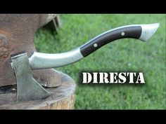 ✔ DiResta Steel Hatchet Handle