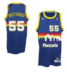 12f307751 Shop Mens Denver Nuggets clothing at Fanatics. Enhance your fan gear with  the latest Mens Denver Nuggets apparel and merchandise from top brands at  Fanatics ...