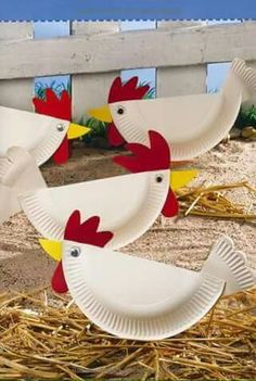 Farm animal crafts preschool farm preschool activities crafts farm crafts for kids images on on fantastic farm animal activities for farm animals preschool Kids Crafts, Daycare Crafts, Toddler Crafts, Easter Crafts, Easter Ideas, Paper Plate Crafts For Kids, Duck Crafts, Cowboy Crafts, Art Crafts