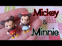 "-----------Watch in HD-------- Open me for a list of materials! :)  These didn't come out as I hoped, but here it is anyway!  :P I am going to paint these black tomorrow as I forgot ahah! :P       Hi everyone so today I am showing you how to make this Mickey and Minnie Mouse ""couple*. I made these for valentines day at first as they were going to be..."