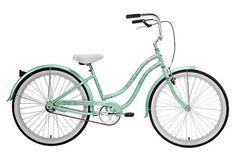Nirve Bikes - 1-Speed Beach Blossom, Sea Foam Green $279.00