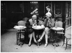 Solita Solano & Djuna Barnes (lesbian modernist authors), Paris, c. 1922-25 © Maurice-Louis Branger