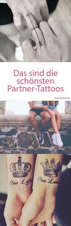Das sind die schönsten Partner-Tattoos