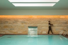 Swimming pool at the Spa of Dom Gonçalo Hotel in Fatima, Portugal. Treatment Rooms, Spa Treatments, Spa Brochure, Hotels Portugal, Turkish Bath, Spa Massage, Workout Rooms, Hotel Spa