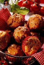 Tomaat-mozzarella muffins - Dr. Oetker