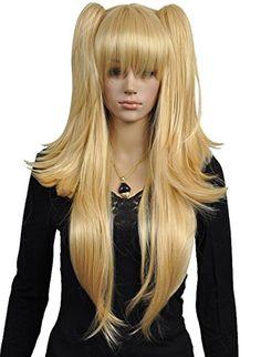 Diy Long Women's 2 Clip Ponytails Straight Blonde Lolita ... https://www.amazon.com/dp/B00M0DLWV6/ref=cm_sw_r_pi_dp_x_Qqp2xbT5ZGW16