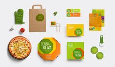 Pizzaria Donna Oliva | Visual Identity