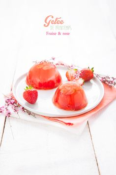 Strawberry & Rose Jelly Recipe