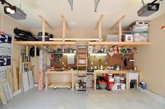 How to Create the Garage Workshop of Your Dreams...is there really hope? They haven't seen MY garage...