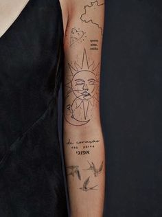 Dainty Tattoos, Pretty Tattoos, Cute Tattoos, Beautiful Tattoos, Small Tattoos, Tatoos, Unique Tattoos, Feminine Tattoos, Little Tattoos