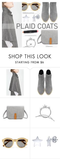 """""""Pattern Mix: Plaid Coats- Yoins"""" by katarina-blagojevic ❤ liked on Polyvore featuring STELLA McCARTNEY, BERRICLE, MAC Cosmetics, yoins, yoinscollection and loveyoins"""