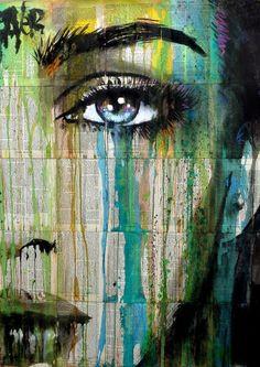 Emerald Dreams of Loui Jover. Painting for sale. Bluethumb - Online Art Gallery - art worlds Art And Illustration, Illustrations, Graffiti Art, Newspaper Art, Pics Art, Portrait Art, Paintings For Sale, Online Art Gallery, Oeuvre D'art