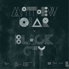 10.Matthew Dear - Black City by Skinny Ships, via Flickr